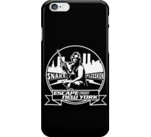 Snake Plissken (Escape from New York) Badge iPhone Case/Skin