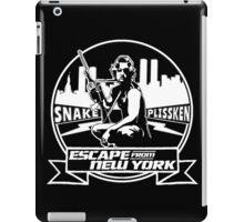 Snake Plissken (Escape from New York) Badge iPad Case/Skin