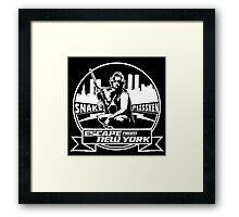Snake Plissken (Escape from New York) Badge Framed Print