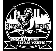 Snake Plissken (Escape from New York) Badge Photographic Print