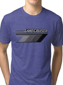 Land Cruiser body art series, grey arrows.  Tri-blend T-Shirt