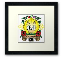 SAILOR TATTOO Framed Print