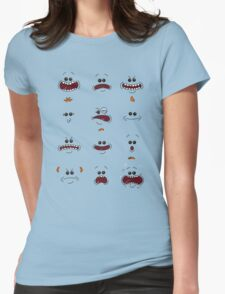 Mr. Meeseeks Womens Fitted T-Shirt
