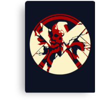 Shield or Hydra  Canvas Print