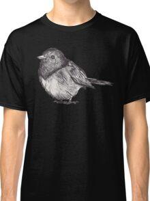 Pen Drawn Finch Sketch Classic T-Shirt