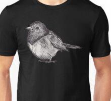 Pen Drawn Finch Sketch Unisex T-Shirt
