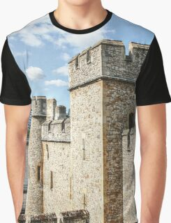 City Hall and the Tower Walls Graphic T-Shirt