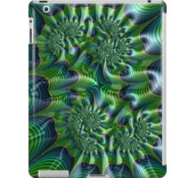 Abstract in Green and Blue iPad Case/Skin