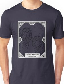 Geri And Freki Odin's Two Wolves T-Shirt