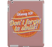 Don't Forget to Smile! iPad Case/Skin