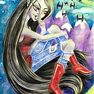 Marceline the Vampire Queen by pompberry