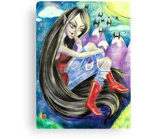 Marceline the Vampire Queen Canvas Print