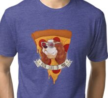 Pizza State of Mind Tri-blend T-Shirt