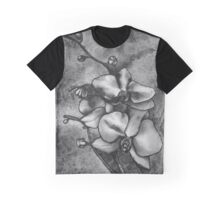 Orchid Watercolour Graphic T-Shirt
