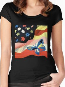 The Avalanches - Wildflower Women's Fitted Scoop T-Shirt