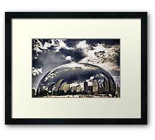 Chicago Afloat Framed Print