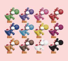 Yoshi Colours Baby Tee