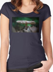 Mushroom Spines Women's Fitted Scoop T-Shirt
