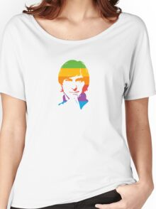 Steve Jobs - Apple Colors Women's Relaxed Fit T-Shirt
