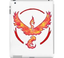 Watercolor Team Valor Logo iPad Case/Skin