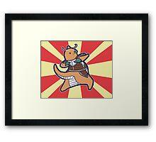 Dragonite of the Ginyu Force Framed Print