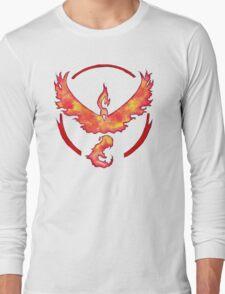Watercolor Team Valor Logo Long Sleeve T-Shirt