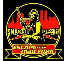 Snake Plissken (Escape from New York) Badge Colour Photographic Print