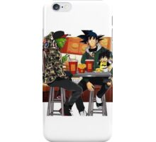 Goku, Piccolo and Gohan at McDonalds iPhone Case/Skin