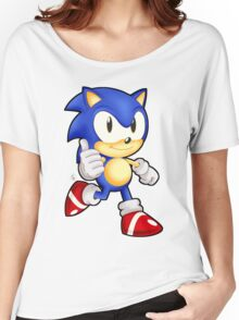 Classic Sonic the Hedgehog Women's Relaxed Fit T-Shirt