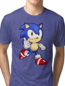 Classic Sonic the Hedgehog Tri-blend T-Shirt