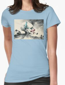Scary Stories to tell in the dark  Womens Fitted T-Shirt
