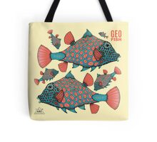 """GeoFish"" - A Space Jellyfish Companion Tote Bag"
