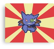 Captain Gengar of Ginyu Squad Canvas Print