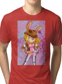 Bunnie Rabbot on Sonic Boom: Southern Style Tri-blend T-Shirt