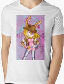 Bunnie Rabbot on Sonic Boom: Southern Style Mens V-Neck T-Shirt