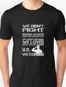 Awesome funny T - shirt design for veteran and more Unisex T-Shirt