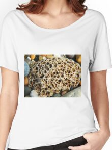 here is a rock which looks like a brain Women's Relaxed Fit T-Shirt
