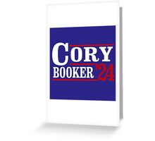 Cory Booker 2024 Greeting Card