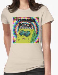 Tripping SpongeBalls Womens Fitted T-Shirt