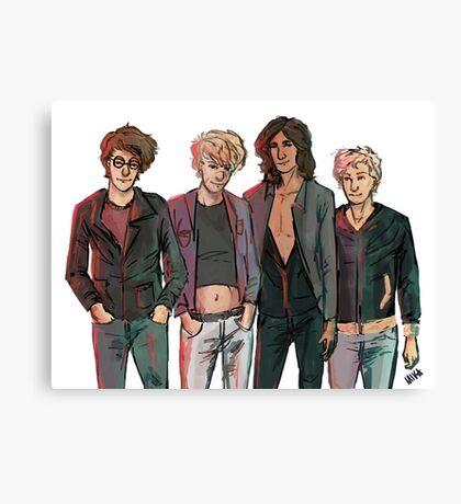 Punk Marauders Canvas Print