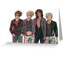 Punk Marauders Greeting Card