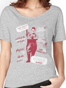 abby yates quotes Women's Relaxed Fit T-Shirt