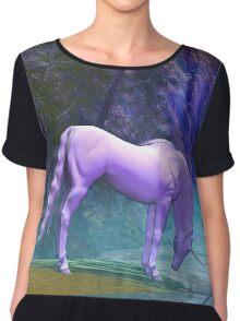 Unicorn in The Woods Chiffon Top