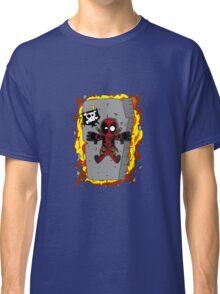 DEADPOOL: EXPLODING FLYING DEBRIS Classic T-Shirt