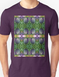 Closed Osteospermum Pattern Unisex T-Shirt