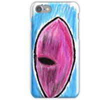 Oil Pastel Eye Drawing 2 iPhone Case/Skin