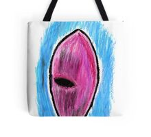 Oil Pastel Eye Drawing 2 Tote Bag