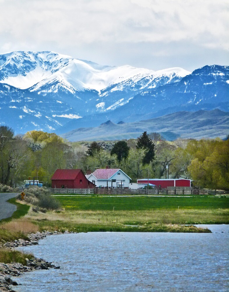 Ranch on the South Fork by Linda Sparks