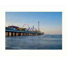 Galveston Pleasure Pier #1 Art Print