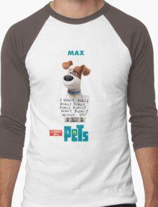 The Secret Life Of Pets Film Men's Baseball ¾ T-Shirt